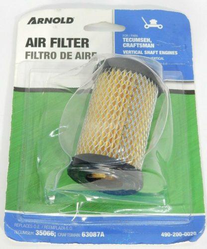 Lawnmower Air Filter 490-200-0020 fits Craftman 63087A Tecumseh 35066