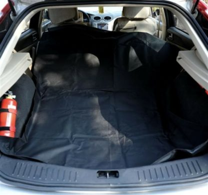 Dog Car Seat Cover Pawhut Universal / Cargo Liner Upholstery Protector Black