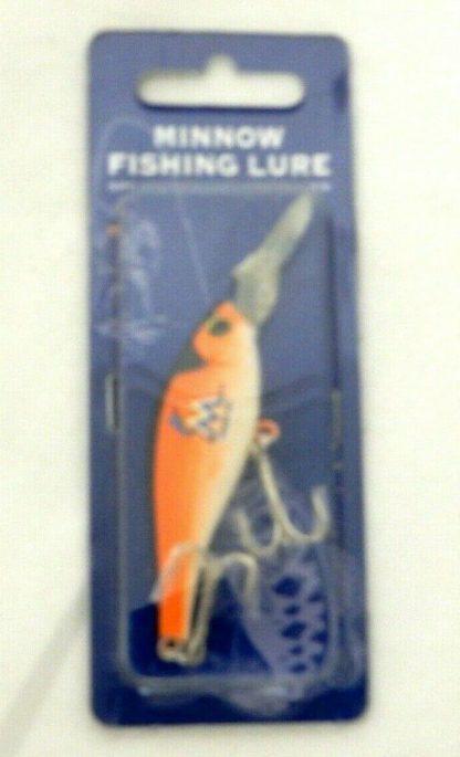 Fishing Bait Lure Orange Miami Marlins MLB Minnow Minnow