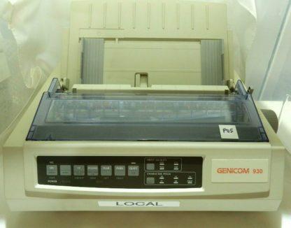 Dot Matrix Printer warhouse point-of-sale Genicom 930 GE7000A