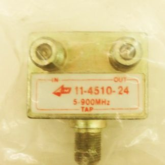 1-2 way catv tap vertical splitter ftype coupler coax cable 11-4510-2 CATV NIB