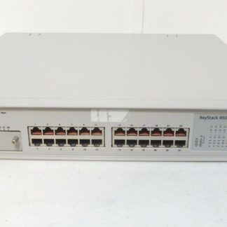 24 port Managed Switch Nortel 460-24T-PW3