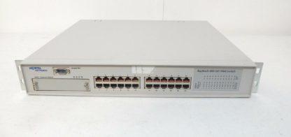 24 port Managed Switch Nortel 460-24T-PW3
