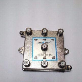 1-6 catv splitter coax cable divider Vertical Split TSV-6 TruSpec 90db -9db