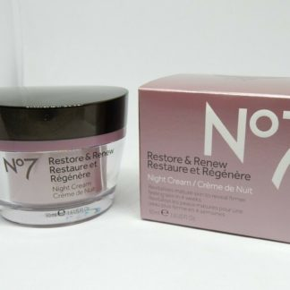 Boots No7 Restore & Renew Night Cream 1.6 oz hypo-allergenic nourishes skin1