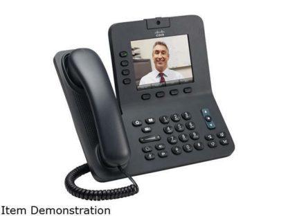 Cisco CP-8945-K9 IP Desktop Phone Wired VoIP VGA 4