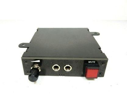 Dispatch Console Jackbox w/ Mute Button Telecom Radio 911 1