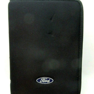 Ford Branded Manual Case w/ 2001 Windstar Owner's Manual works with other models2