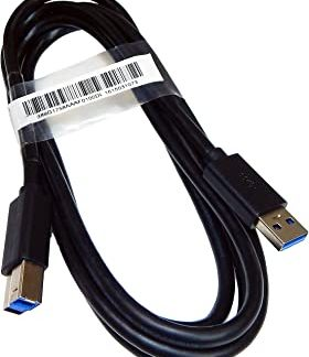 Dell 6Ft USB 3.0 Type A to Type B Cable Connector