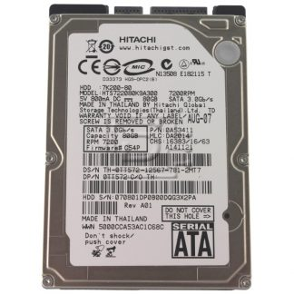 Hitachi Travelstar 7K200 0A53411 SATA Hard Drive
