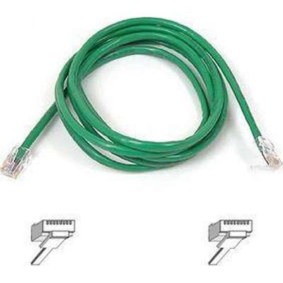 Belkin A3L791-01-GRN-S 1-Foot CAT5e Snagless Patch Cable (Green)