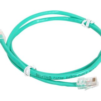 Belkin A3L791-03-GRN 3 ft. Cat 5E Green UTP RJ45M/RJ45M Patch Cable