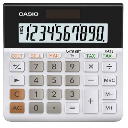 Casio MH-10 10-Digit Desktop Calculator 2
