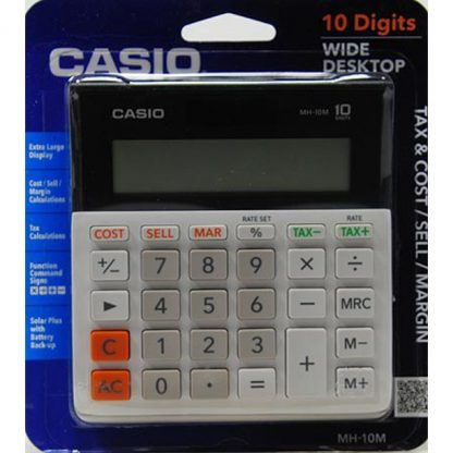 Casio MH-10 10-Digit Desktop Calculator 1