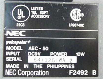 NEC AEC-50