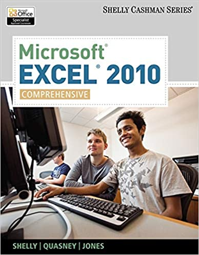 Microsoft Excel 2010: Comprehensive