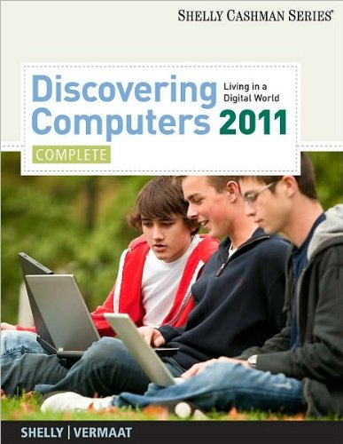 Discovering Computers 2011: Complete (Shelly Cashman)(text only)1st (First) edition[Paperback]2010