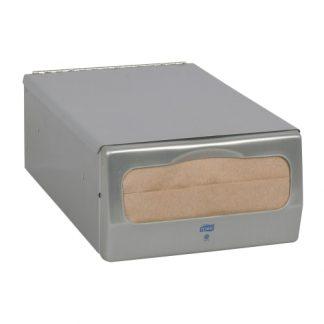 Home / Breakroom / Cups, Plates & Cutlery / Napkins / Product Details Tork® Minifold™ Napkin Dispenser Brushed Steel