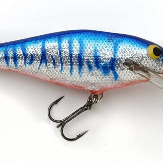 Bagley Deep Diving Shad Genuine Balsa Wood Fishing Bait DDS-AOB-P