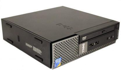Dell OptiPlex 780 USFF Desktop Intel Core 2 Duo 3.0 GHz 4 GB RAM 250 GB HD DVD Win Pro 32-Bit