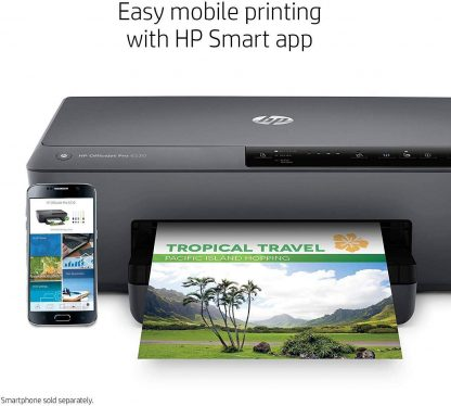 HP OfficeJet Pro 6230 Wireless Printer Works with Alexa 5