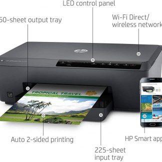 HP OfficeJet Pro 6230 Wireless Printer Works with Alexa 8