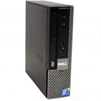 Dell OptiPlex 780 USFF Desktop Intel Core 2 Duo 3.0 GHz 4 GB RAM 250 GB HD DVD Win Pro 32-Bit