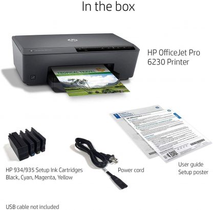 HP OfficeJet Pro 6230 Wireless Printer Works with Alexa 6