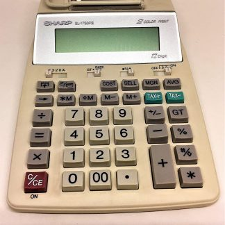 Sharp EL-1750PIII Printing Calculator