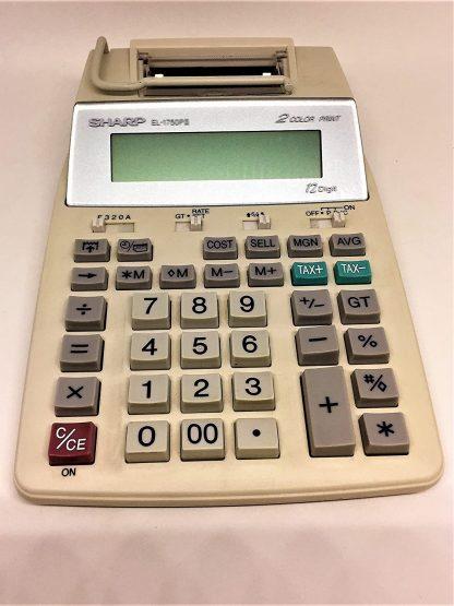 Sharp EL-1750PIII Printing Calculator