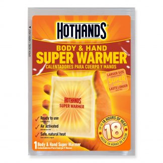 Super HotHands® Hand and Body Warmers Bulk Pack