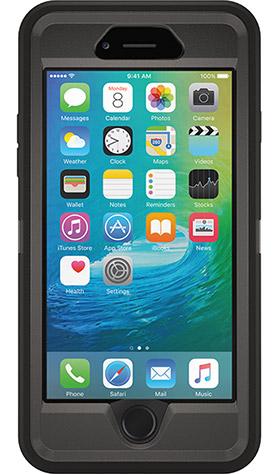 Defender Series Case for iPhone 6/6s Polycarbonate Black
