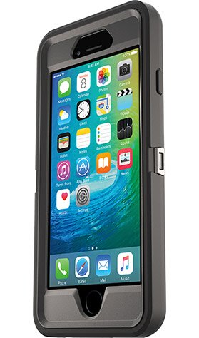 Defender Series Case for iPhone 6/6s Polycarbonate Black