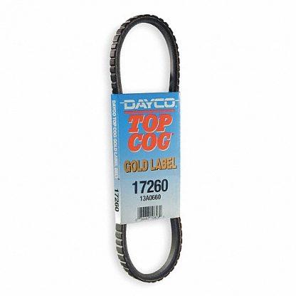 Dayco Top Cog Belt Top Cog Gold Label