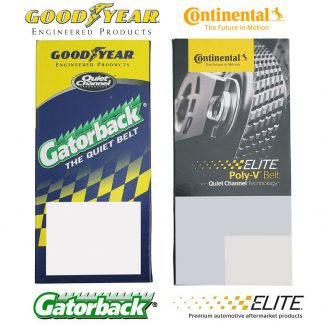 Goodyear 4080575 Gatorback Poly V Serpentine Belt