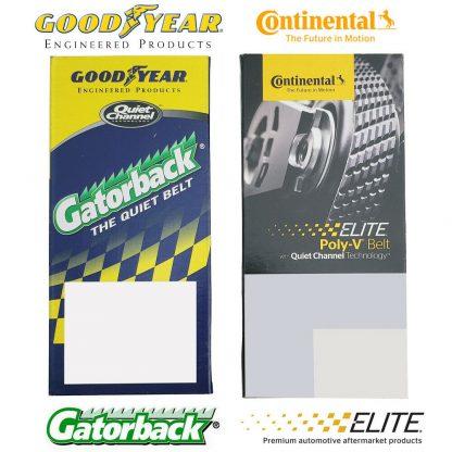 Goodyear 4080575 Gatorback Poly V Serpentine Belt