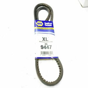 Napa XL 9447  EPDM Rubber Belt Back Polyester