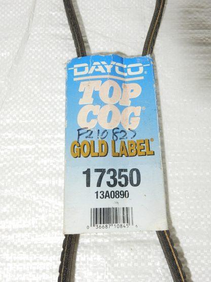 vbelt dayco top cog 17350